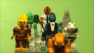 Custom Lego Ben 10 figures Showcase