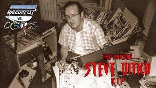 The Amazing STEVE DITKO (R.I.P.) - Razör vs. Comics