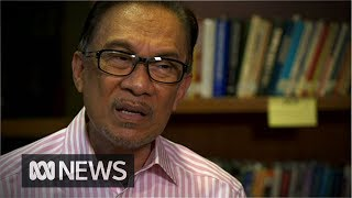 Anwar Ibrahim speaks about the