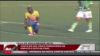 Moçambique: O clube Costa do Sol apura-se para a final da taça de Moçambique