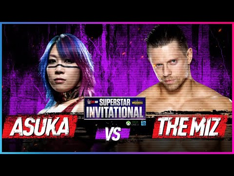 Xxx Mp4 ASUKA Vs THE MIZ Rd 1 WWE 2K18 Superstar Invitational Tournament 3gp Sex