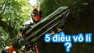 Top 5 Điều Vô Lí Trong Kamen Rider Ghost