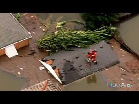 Dramáticas imágenes de la destrucción causada por Katrina - UVideos