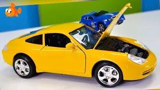 PORSCHE 911 - Bussy & Speedy Bburago Toy Cars Construction
