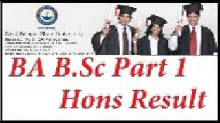 West Bengal state University result 2015 WBSU BA,BSC,BCOM Part 3 Hons results