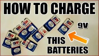 How to Charge 9V Batteries [UPDATED]