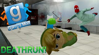 Garry's Mod Portal Deathrun Fun - The Cake, GLaDOS Voice, Knife Fight (Gmod Funny Moments)