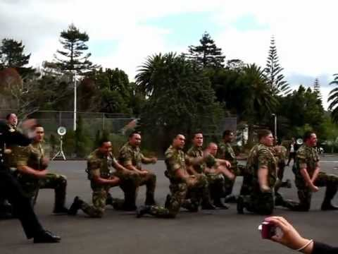 LSV March Out Haka Hobsonville 09 2012