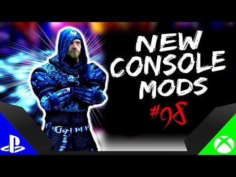 Skyrim Special Edition: ▶️5 BRAND NEW CONSOLE MODS◀️ #98 (PS4/XB1/PC)