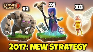 GOLEM WALK + WITCH WALK | Th9 New 3 STARS War Attack Strategy | Clash Of Clans