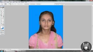 How to create a passport size photo in photoshop (A K Singh, Shekpura, Begusarai)