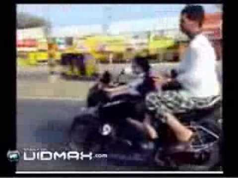 4 Year Old Indian Girl Drives Motorcycle