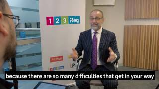 Theo Paphitis explains what is takes to be an entrepreneur - 123 Reg