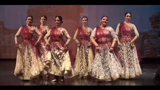 Russian girls performing Kathak - Indian Classical Dance - by Svetlana Tulasi & Chakkar dance group