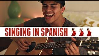 SINGING IN SPANISH! | Solamente TÏ by Pablo Alboràn | Cover by Alex Aiono