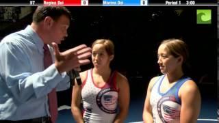 97 lbs. Finals - Regina Doi (CA) vs. Marina Doi (CA)