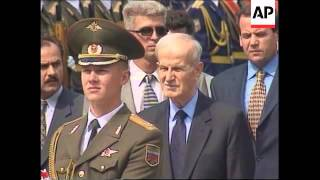 RUSSIA: MOSCOW: SYRIAN PRESIDENT ASSAD VISIT