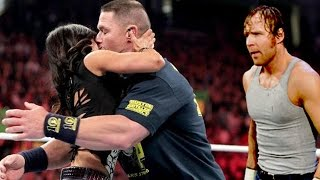 [WWE HOT] John Cena kisses Moments it's Hot wwe kisses in wwe