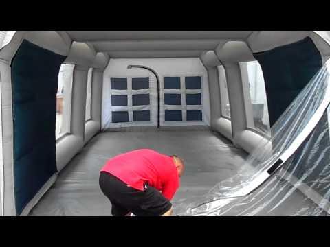 говоря, Автокапсула надувной гараж вот