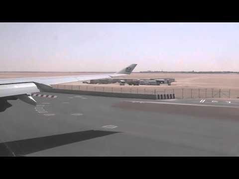 Etihad Airbus A340 600 Takeoff Abu Dhabi