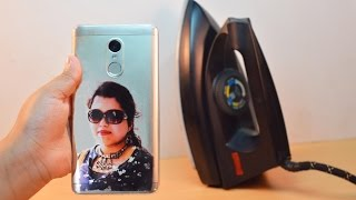 How to Print Your  Photo on Mobile cover at Home - Using Electric Iron
