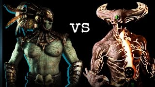 MKX - Tower Final Fight / Kotal Kahn vs Corrupted Shinnok
