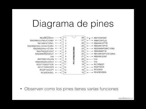 Tutorial de Microcontroladores PIC Básico  Video 2 pines