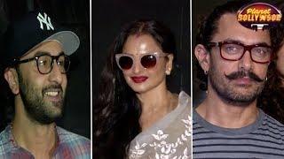 Ranbir, Rekha, Jacqueline Attend Aamir Starrer