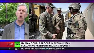 UK may double troops in Afghanistan following Trump