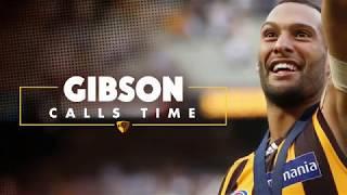 Josh Gibson calls time