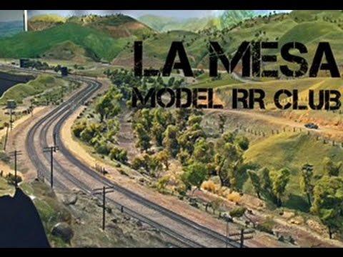 AMERICA S LARGEST BNSF UP MODEL RR Layout Tour The La Mesa Model RR Club