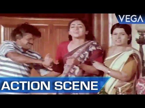 Murali Gets Beaten || Kalamellam Un Madiyil Tamil Movie || Action Scene