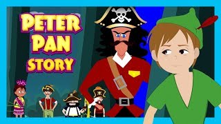 Peter Pan Story and Song - English Story and Songs For Kids || Bedtime Story and Songs