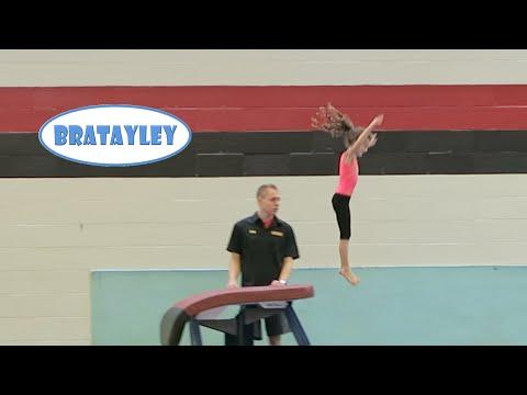 Hayley s 1st Gymnastics Camp WK 261 Bratayley