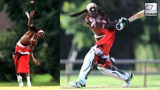 Maasai Warriors Play Cricket Red