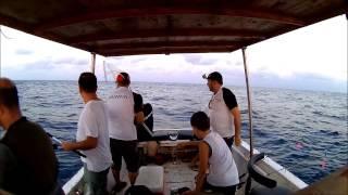 Daiwa Pirates 170 gr ile 10 KG KUZU - VOLKAN TOPAL- (Amberjack hooked wtih pirates slow jig)