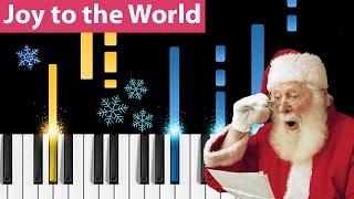 Joy to the World - Piano Tutorial - How to play Joy to the World on piano