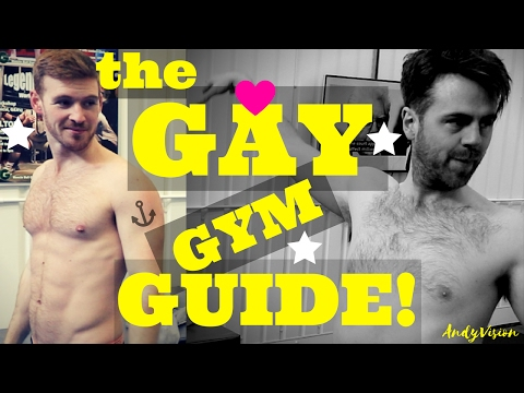 The gay gym guide for shy guys!