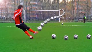 Crazy Free Kick Tutorial - How To Shoot A Knuckleball