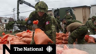 The volunteers saving homes from floods in the Ottawa Valley