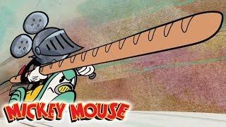 Micky Maus Short - Croissant De Triomphe   Disney Channel