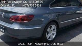 2014 Volkswagen CC Sport Plus for sale in Orlando, FL 32807