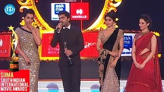 SIIMA 2014 || South Indian Cinema Stylish Star || Simbu