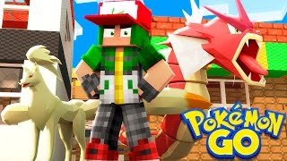 Pokemon Go in Minecraft - Pokemon Vanilla World #3
