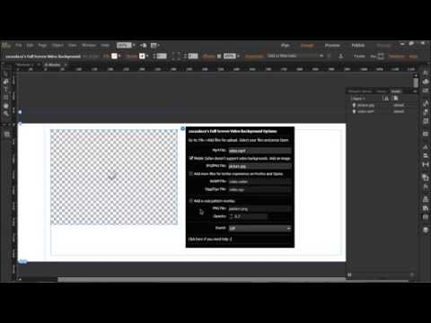 Xxx Mp4 Adobe Muse Full Screen Video Background Widget Tutorial And Free Download 3gp Sex