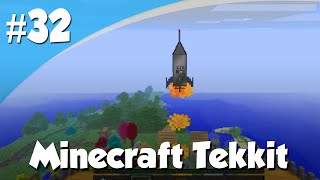 Minecraft Tekkit #32 - OP NAAR DE MAAN!!