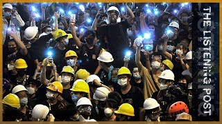 Hong Kong protests: Taking the streets, dominating the screens | The Listening Post (Full)