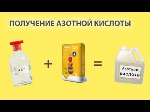 Как сделать синтез кислоты