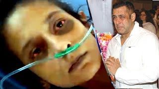 Emotional Salman Khan Breaks Down Seeing His Veergati Actress Pooja Dudwal's Condition & HELPS Her