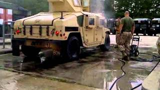 Marine Humvee Wash